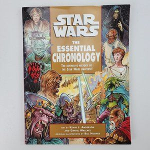 Del Ray Star Wars The Essential Chronology Book